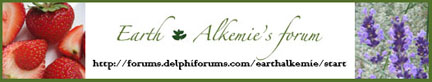 Earth Alkemie's forum